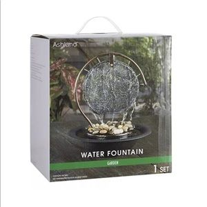 Ashland Tabletop Fountain gong shaped.